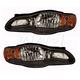 1ALHZ00011-2000-05 Chevy Monte Carlo Headlight Pair