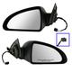 1AMRP00471-2006-09 Pontiac G6 Mirror Pair Black