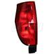 1ALTL01262-2004-05 GMC Envoy XUV Tail Light Driver Side