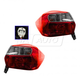 1ALTP00882-Subaru Impreza XV Crosstrek Tail Light Pair