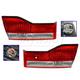 1ALTP00888-2001-02 Honda Accord Tail Light Pair