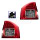 1ALTP00886-2011-13 Jeep Compass (MK) Tail Light Pair