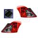 1ALTP00874-2012-16 Nissan Versa Tail Light Pair
