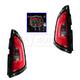 1ALTP00877-2012-13 Kia Soul Tail Light Pair