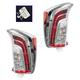 1ALTP00876-2012-15 Toyota Prius Tail Light Pair