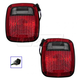 1ALTP00867-1998-06 Jeep Wrangler Tail Light Pair