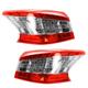 1ALTP00896-2013-15 Nissan Sentra Tail Light Pair