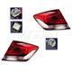 1ALTP00893-2013-15 Honda Civic Tail Light Pair