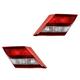 1ALTP00894-2013-15 Honda Civic Tail Light Pair
