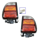 1ALTP00861-1998-00 Toyota Rav4 Tail Light Pair