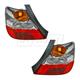 1ALTP00857-2004-05 Honda Civic Tail Light Pair