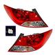 1ALTP00847-2012-13 Hyundai Accent Tail Light Pair