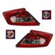 1ALTP00801-2012-13 Honda Civic Tail Light Pair