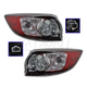 1ALTP00805-2010-13 Mazda 3 Tail Light Pair
