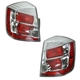 1ALTP00812-2010-12 Nissan Sentra Tail Light Pair