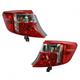 1ALTP00813-2012-14 Toyota Camry Tail Light Pair