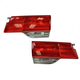 1ALTP00814-2008-10 Honda Odyssey Tail Light Pair