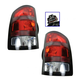 1ALTP00818-2008-09 GMC Sierra 1500 Tail Light Pair