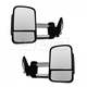 1AMRP00963-Mirror Pair Chrome Cap