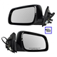 1AMRP00996-2008-14 Mitsubishi Mirror Pair