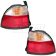 1ALTP00106-1996-97 Honda Accord Tail Light Pair