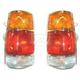 1ALTP00101-Tail Light Pair Chrome