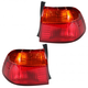 1ALTP00137-1999-00 Honda Civic Tail Light Pair