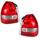 1ALTP00135-1999-00 Honda Civic Tail Light Pair