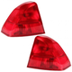 1ALTP00136-Acura EL Honda Civic Tail Light Pair