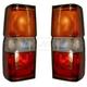 1ALTP00114-1987-95 Nissan Pathfinder Tail Light Pair