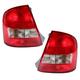1ALTP00123-Mazda Protege Tail Light Pair