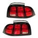 1ALTP00066-1996-98 Ford Mustang Tail Light Pair