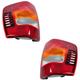 1ALTP00063-Jeep Grand Cherokee Tail Light Pair