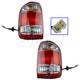 1ALTP00043-Nissan Pathfinder Tail Light Pair