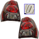 1ALTP00040-Chevy Tail Light with Circuit Board Pair