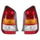 1ALTP00049-2001-04 Mazda Tribute Tail Light Pair