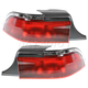 1ALTP00046-1995-97 Mercury Grand Marquis Tail Light Pair