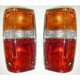 1ALTP00096-Toyota 4Runner Pickup Tail Light Pair