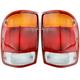 1ALTP00080-1998-99 Ford Ranger Tail Light Pair