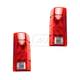 1ALTP00075-1980-86 Ford Tail Light Lens Pair