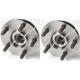 1ASHS00089-1989-90 Wheel Bearing & Hub Assembly Front Pair