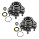 1ASHS00069-Wheel Bearing & Hub Assembly Pair Front