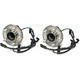 1ASHS00073-Wheel Bearing & Hub Assembly Pair Front