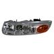 1ALHL00081-Saturn SL Sedan SW Wagon Headlight Driver Side