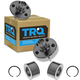1ASHS00051-Wheel Bearing & Hub Assembly Rear Pair  TRQ BHA53340