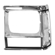 1ALHL00035-Jeep Cherokee Comanche (MJ) Headlight Bezel Driver Side