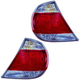 1ALTP00202-2005-06 Toyota Camry Tail Light Pair