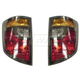 1ALTP00225-2006-08 Honda Ridgeline Tail Light Pair