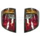 1ALTP00225-2006-08 Honda Ridgeline Tail Light Pair