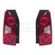 1ALTP00228-2005-13 Nissan Xterra Tail Light Pair